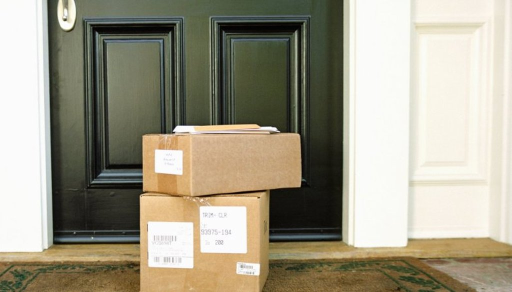 Millions of packages are delivered to front porches nationwide during the holiday season. (Getty Images)