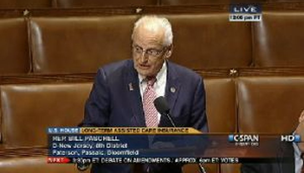 Congressman Bill Pascrell discusses the impact of health care bills on small businesses during this Feb. 1 speech on the House floor.