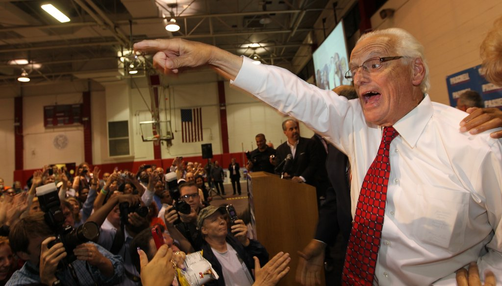 Rep. Bill Pascrell, above, defeated Rep. Steve Rothman in Tuesday's primary for the Democratic nod in a northern New Jersey district.