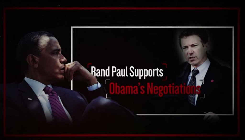 Republican PAC Foundation for a Secure and Prosperous America released an ad attacking Sen. Rand Paul, R-Ky., for his foreign policy positions the same day he announced his presidential campaign, April 7, 2015.