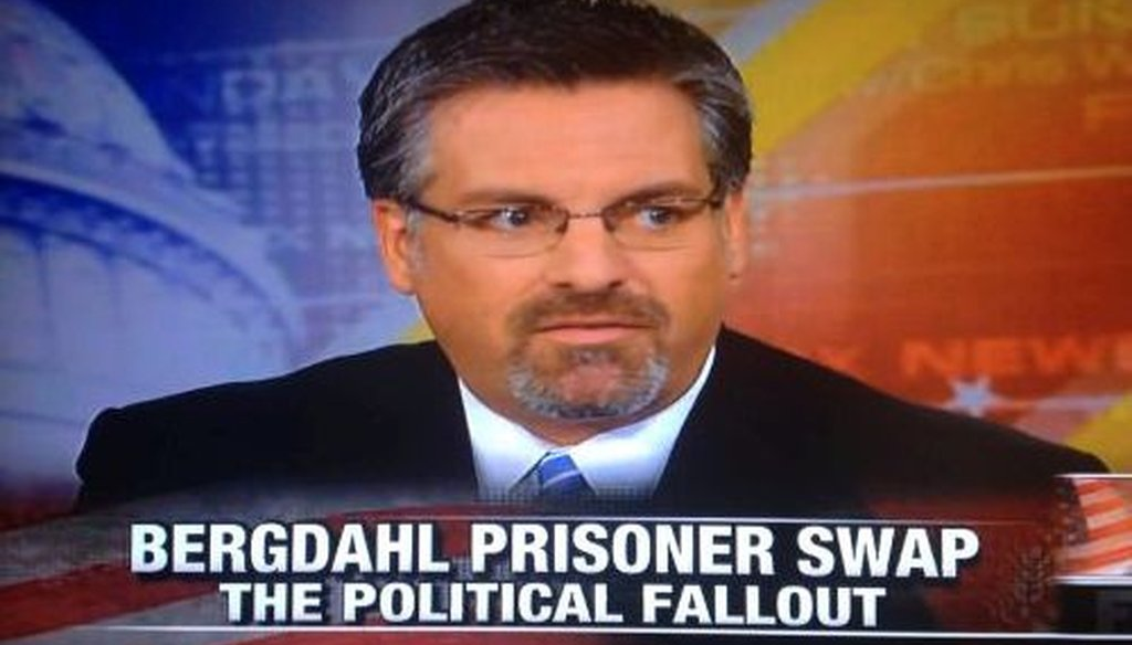 Stephen Hayes said that the Obama administration went to court to keep one of the five now-released Taliban prisoners at Guantanamo.