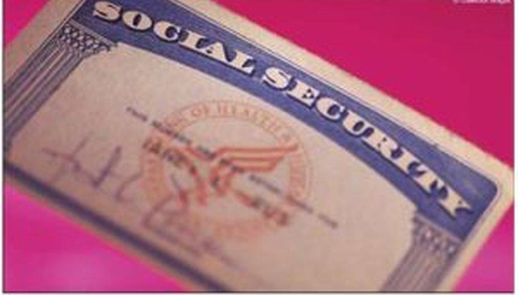 A Ponzi scheme card?