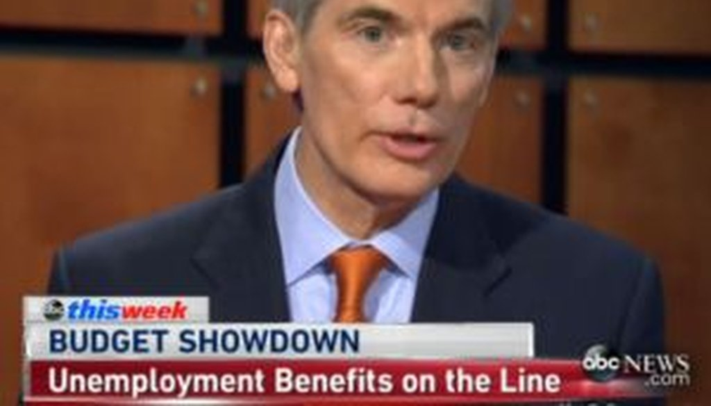 Sen. Rob Portman, R-Ohio, said just 2 percent of Americans earn the minimum wage. Is that correct?