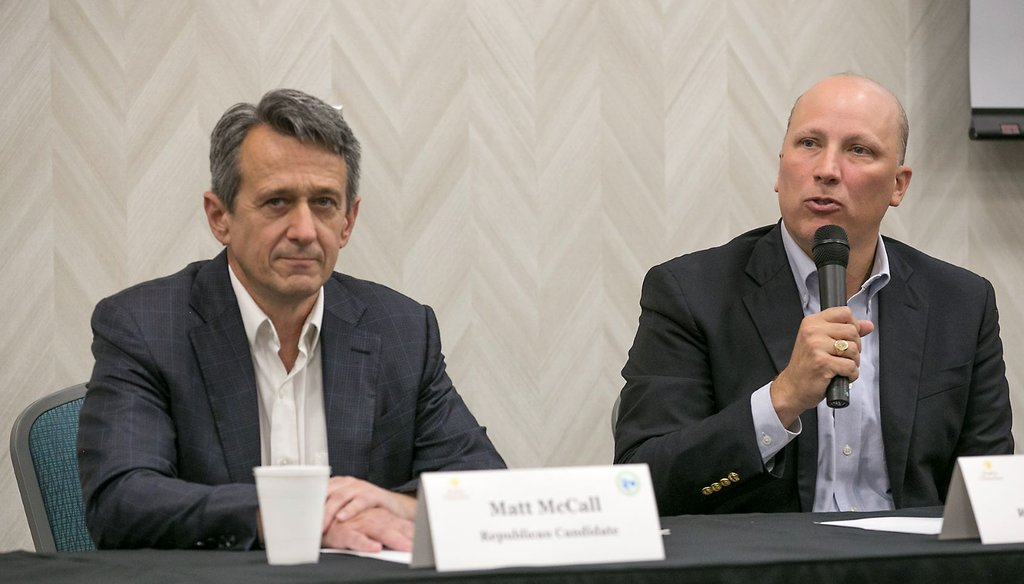 U.S. Rep. Chip Roy said the national debt grows by $100 million every hour. Does it? (Ralph Barrera/Austin American-Statesman)