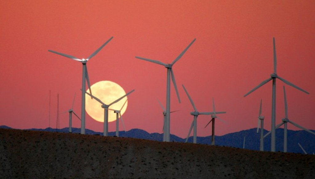 State officials claim California is home to more than 500,000 clean energy jobs. Photo by Chuck Coker