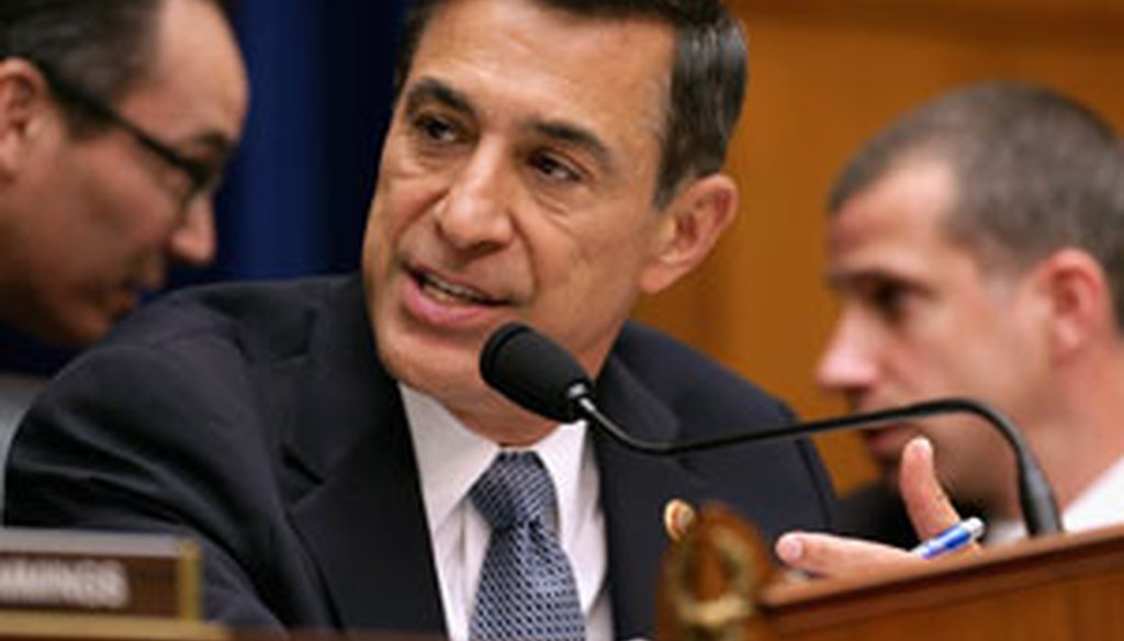"""House Oversight and Government Reform Committee Committee Chairman Darrell Issa, R-Calif., led a hearing titled, """"Benghazi: Exposing Failure and Recognizing Courage"""" on May 8, 2013. (Getty Images)"""