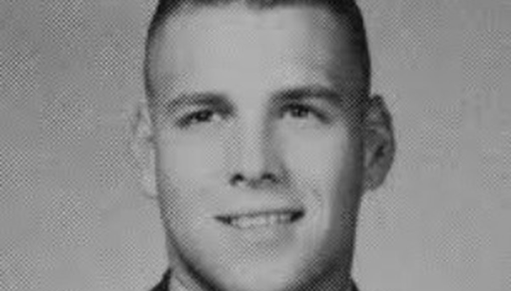 Rick Perry kept his hair very short as a Texas A&M student (1969, The Aggieland yearbook).