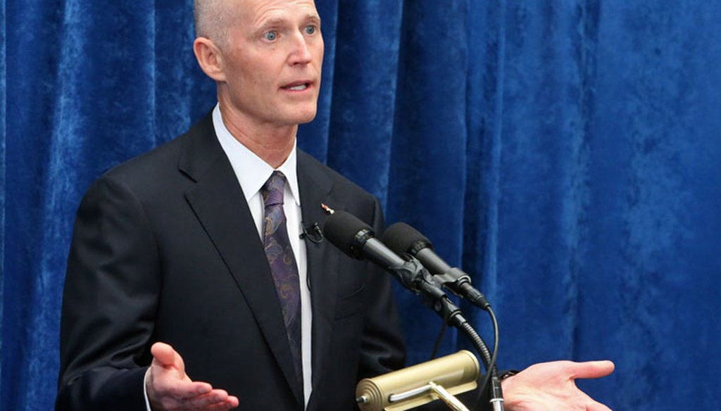 Gov. Rick Scott will give his State of the State address on Jan. 12, 2016. (AP photo)