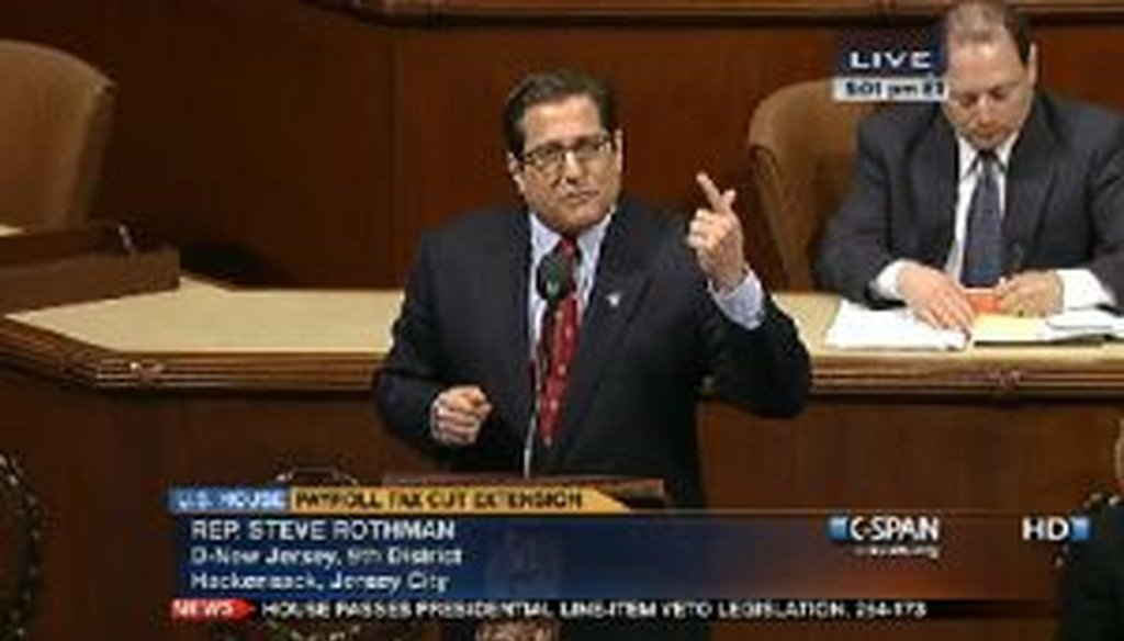 "Congressman Steve Rothman claims Republicans voted to ""end Medicare"" during this Feb. 8 speech on the House floor."