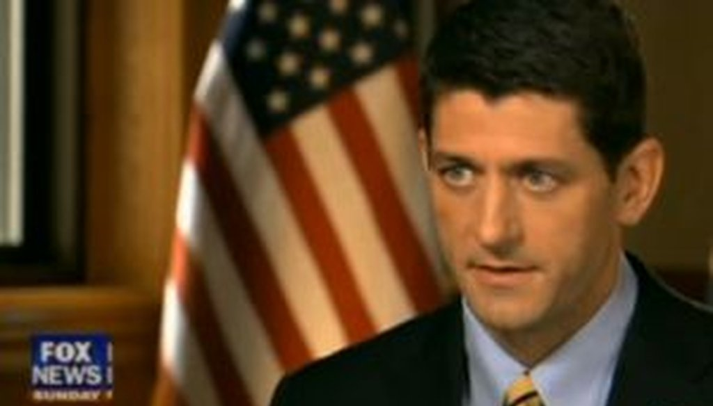 On Fox News Sunday, Republican vice presidential candidate Paul Ryan said that a dozen taxes in President Barack Obama's health care law would hit the middle class. Is that correct?