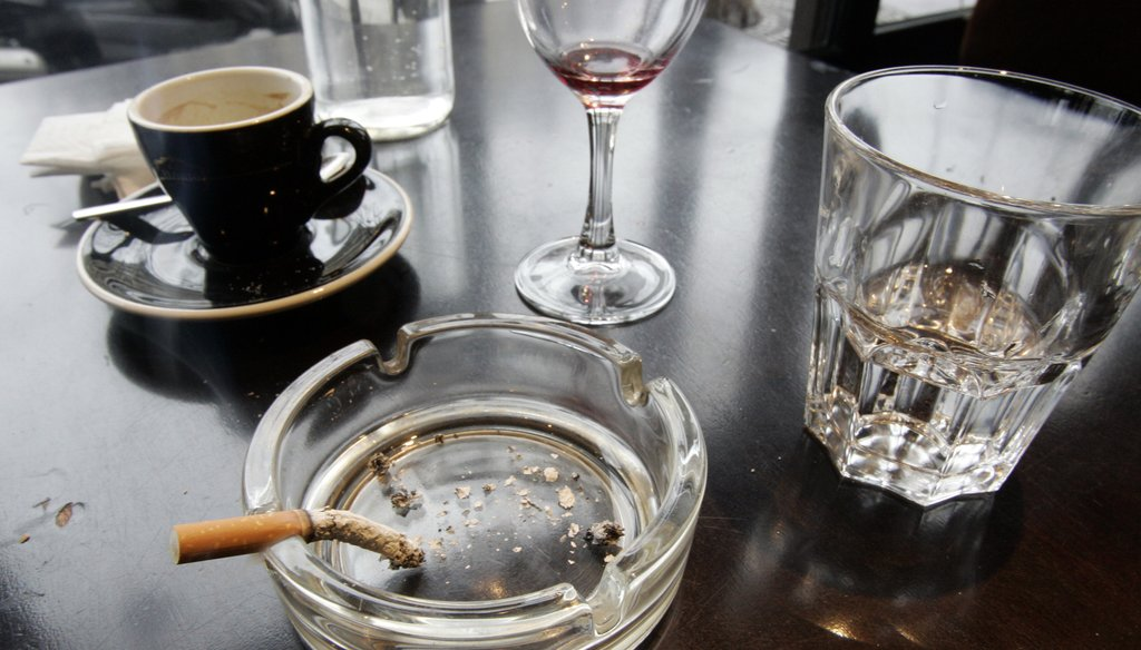 Health officials hope that by 2020 only 12 percent of American adults 18 and over will be smoking cigarettes. New data shows 17.4 percent of Georgia adults smoked in 2014, compared to 18.8 in 2013.
