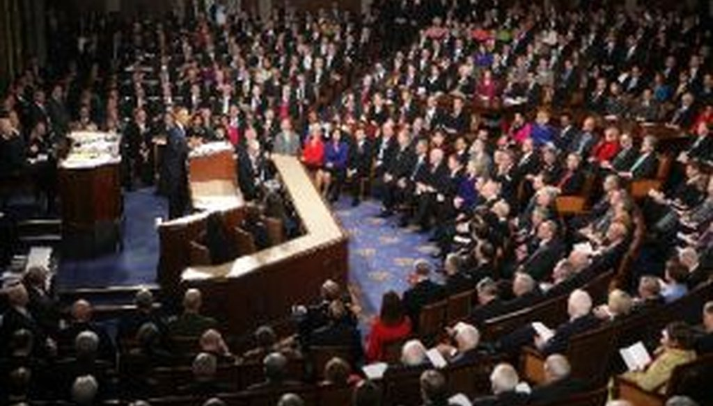 President Obama delivered the State of the Union address on Tuesday night.