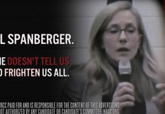 GOP again tries to brand Spanberger with 'Terrorist High' ad