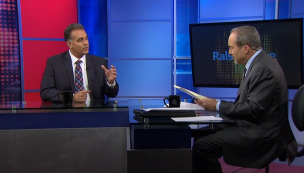 Political journalist Jon Ralston interviews congressional candidate Danny Tarkanian in February