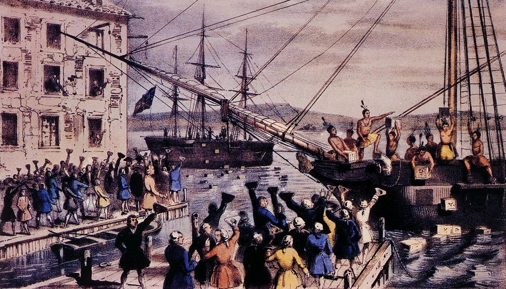 Fox News host Andrea Tantaros said Americans don't know their history about the Boston Tea Party.
