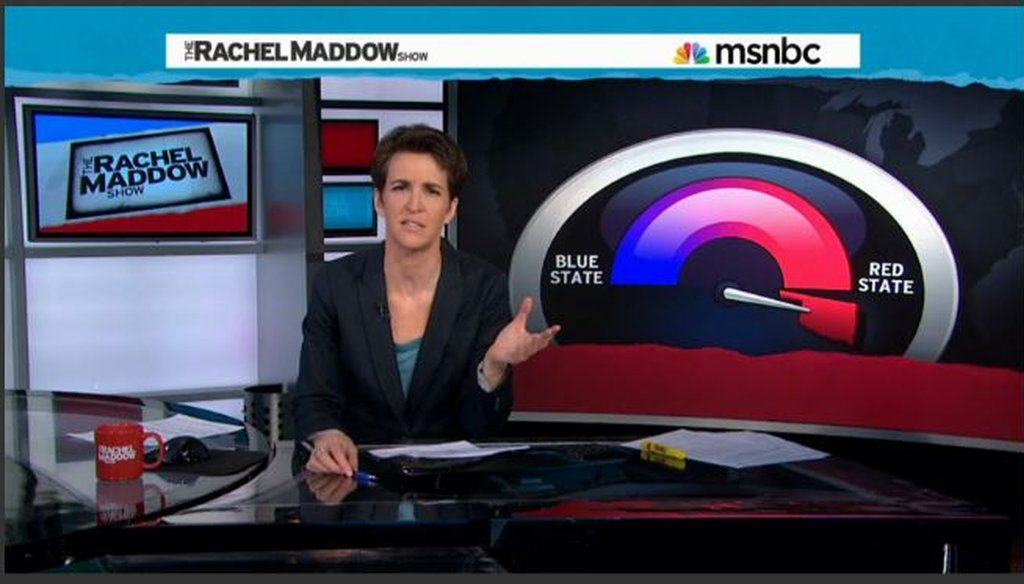 "Rachel Maddow discusses Oklahoma's ""sun tax."""