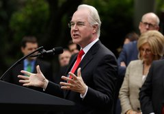 What HHS Secretary Tom Price said about opioid addiction treatment