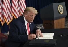 Trump's action on unemployment benefits, explained