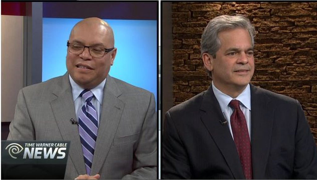 Mike Martinez, an Austin City Council member, and Steve Adler, an Austin attorney, debated Nov. 19, 2014, on TWC News. See the debate: http://bit.ly/1utjFFi (TWC News).