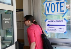 What's Allowed And What's Not At Voting Sites In California?