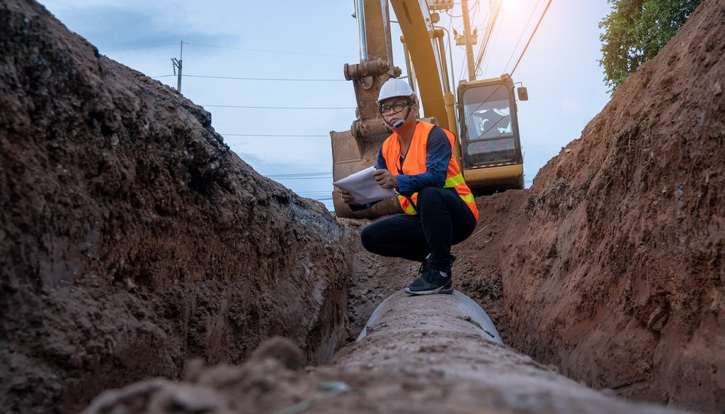The White House infrastructure plan has $111 billion to improve water and sewer systems. (Shutterstock)