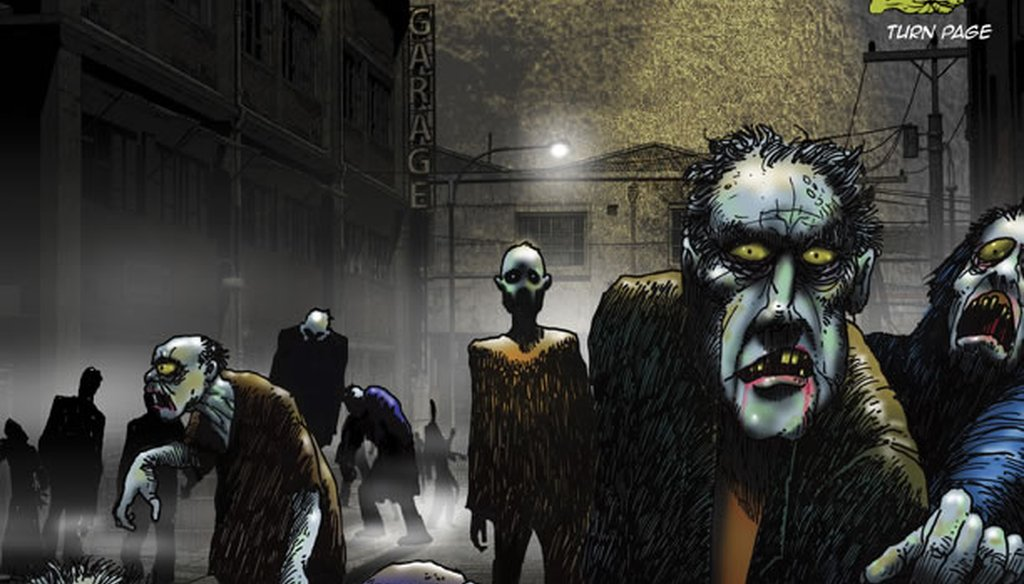 Does the federal government have a Zombie Apocalypse Plan?