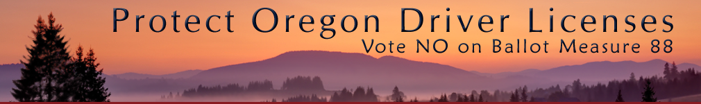 Protect Oregon Driver Licenses