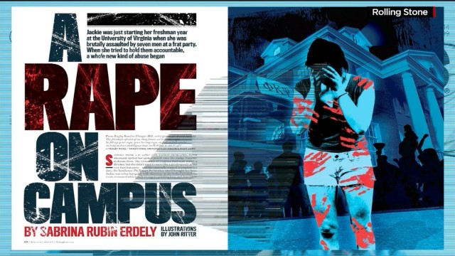 """Rolling Stone's"" apology for mistakes in a story about sexual assault on the University of Virginia campus led to a discussion about rape on college campuses on ABC's ""This Week."""