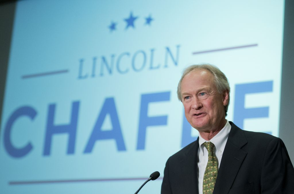 Lincoln Chafee announced that he was running for president on June 3, 2015. (AP)