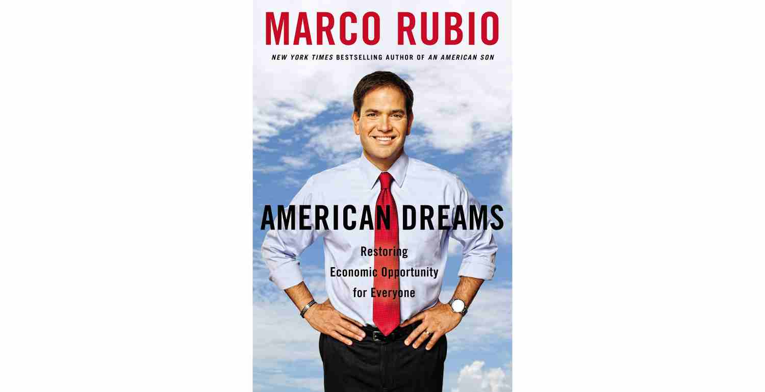 U.S. Sen. Marco Rubio, R-Fla., released his new book on Jan. 13, 2015.