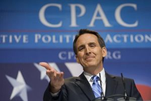 Minnesota Gov. Tim Pawlenty at the Conservative Political Action Conference on Feb. 19, 2010.