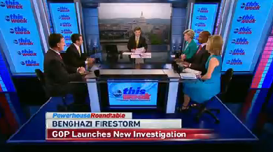 Pundits discussed Susan Rice's Benghazi talking points in the days after the attack on a U.S. consulate in Libya.