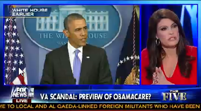 """Fox News host Kimberly Guilfoyle said Obamacare is """"one big fat VA system."""""""