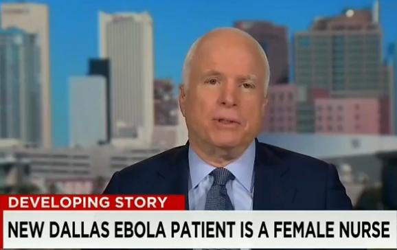 """On CNN's """"State of the Union,"""" Sen. John McCain, R-Ariz., said, """"We were told there would never be a case of Ebola in the United States."""""""