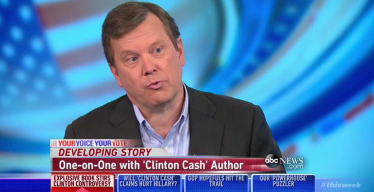 'Clinton Cash' author Peter Schweizer.