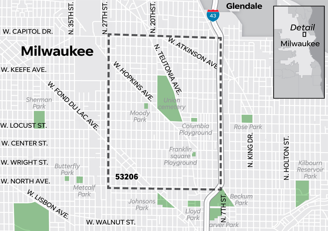 Milwaukee's 53206 ZIP code faces deep, longstanding challenges. But sometimes its standing by the numbers gets exaggerated.