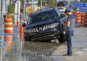 Flooding in South Florida is becoming more routine. (Miami Herald file photo)