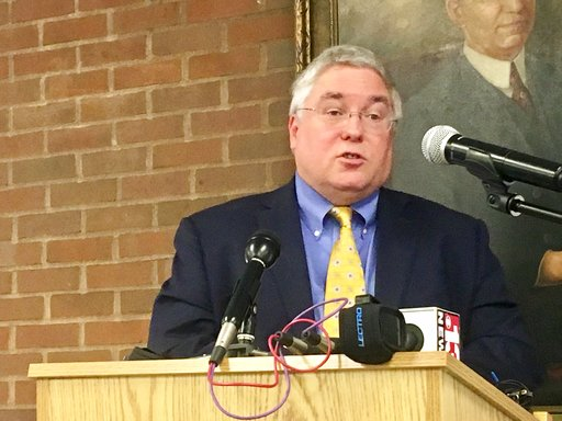 West Virginia Attorney General Patrick Morrisey Speaks On Sept 18 2017 At A