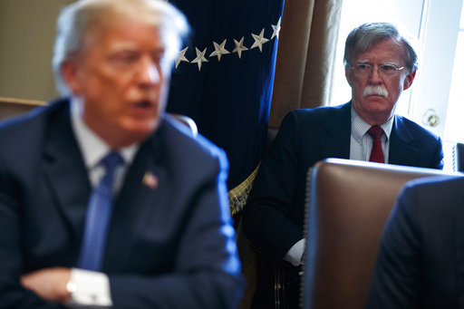 Bolton says Trump wanted to tie Ukraine aid to probe: Report