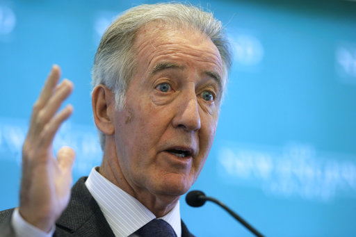 Rep. Richard Neal, D-Mass., the incoming chairman of the House Ways and Means Committee, on Nov. 27, 2018. Neal will soon be in a position to request President Donald Trump's tax returns. (AP/Steven Senne)