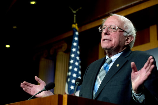 Sanders says his campaign built to beat Trump