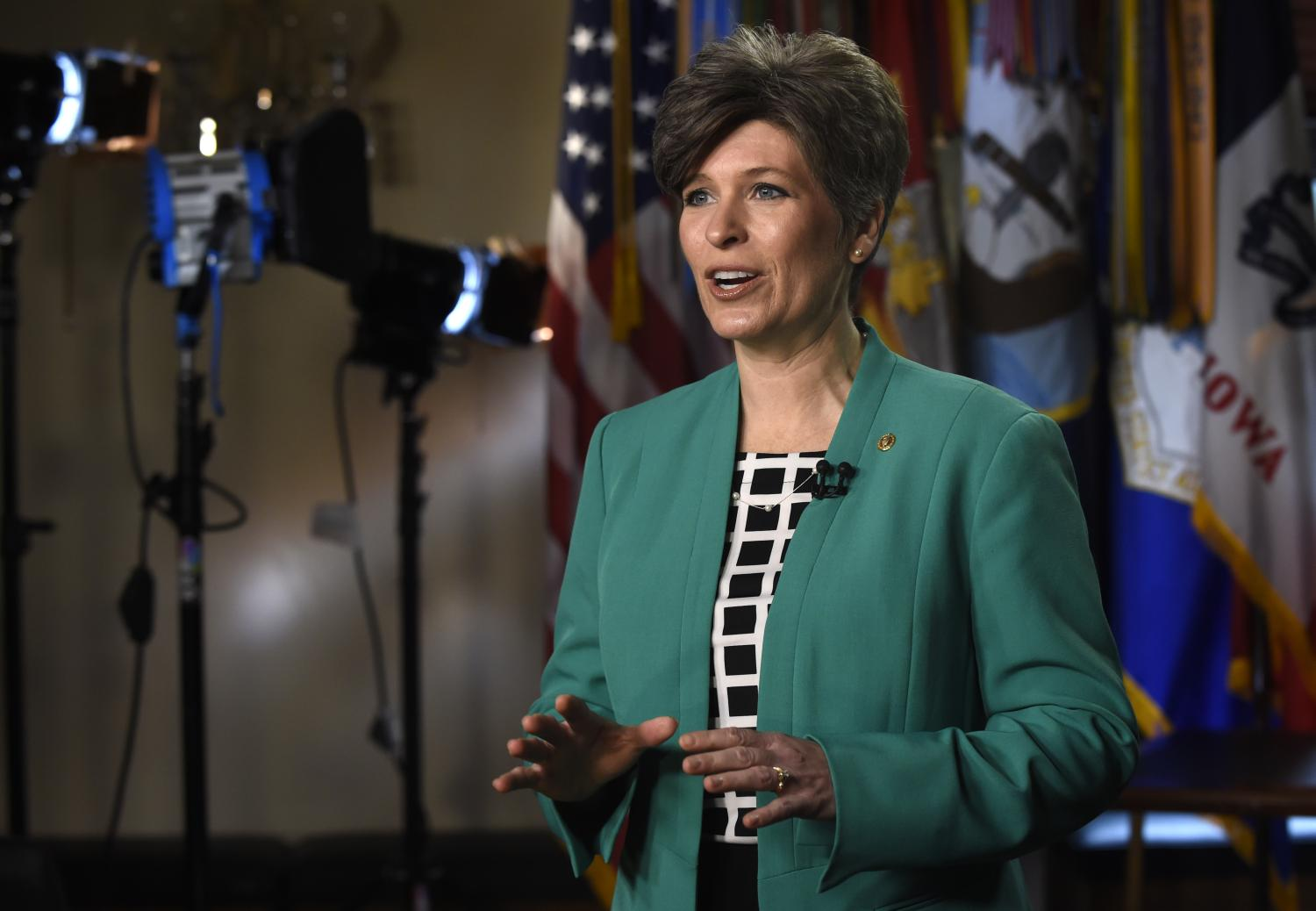 Sen. Joni Ernst, R-Iowa, gave the 2015 GOP rebuttal to the State of the Union.