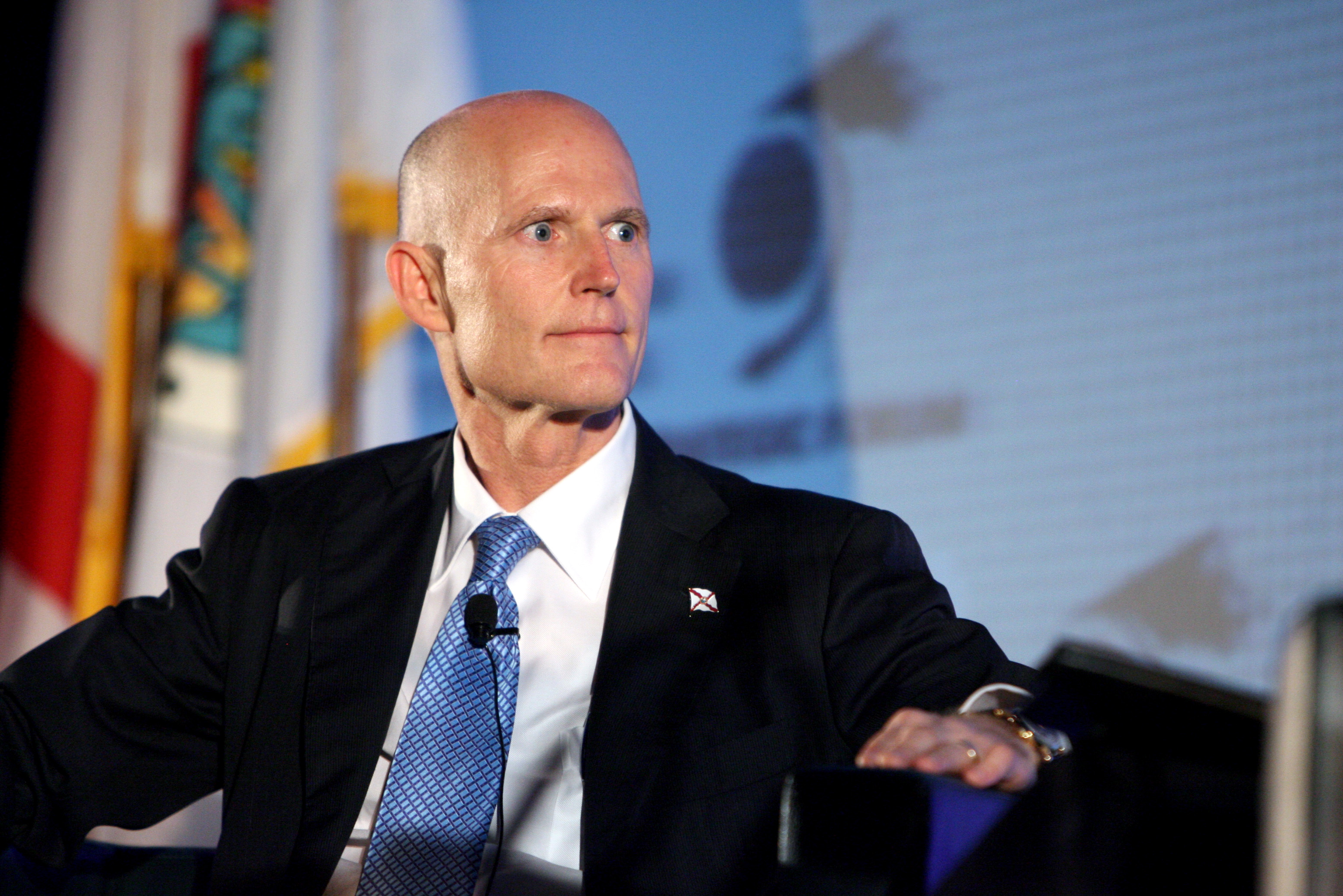 Florida Gov. Rick Scott has had ups and downs in his first 100 days.