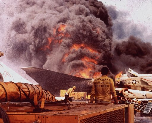 Posts wrongly blame John McCain for deadly 1967 fire aboard