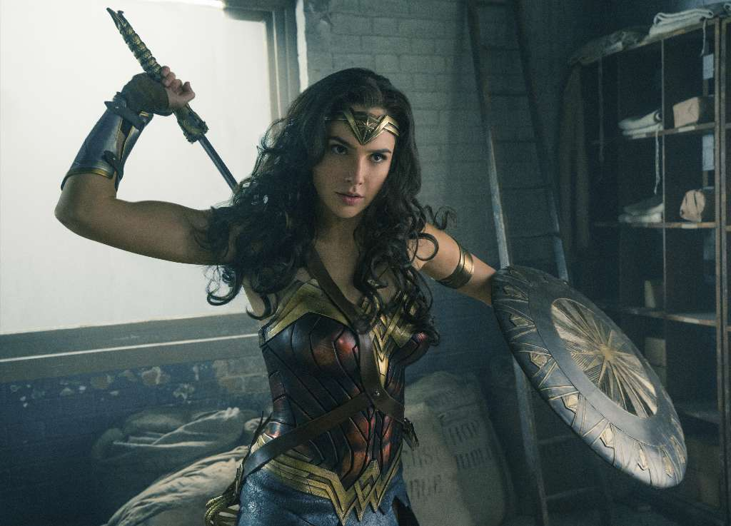 "Gal Gadot reportedly earned $300,000 for her role in the box-office hit ""Wonder Woman."" (Handout photo)"