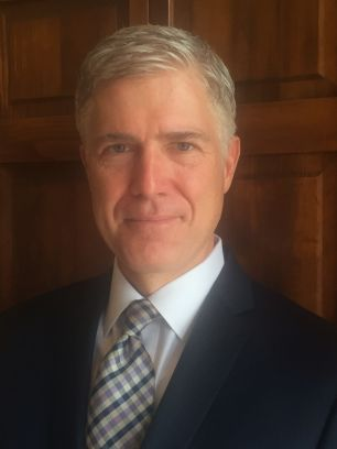 This photo provided by the 10th U.S. Circuit Court of Appeals shows Judge Neil Gorsuch. (10th U.S. Circuit Court of Appeals via AP)