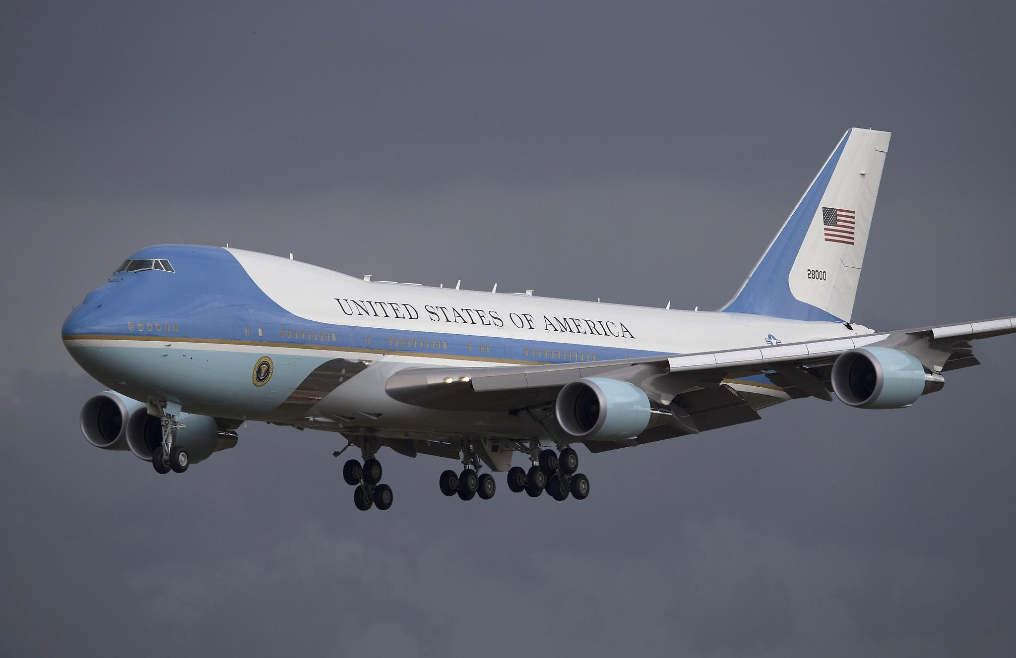 Trump has blasted the cost of replacing Air Force One.