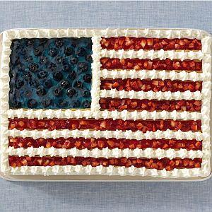 It's PolitiFact Georgia's first birthday. We deserve an American flag cake.
