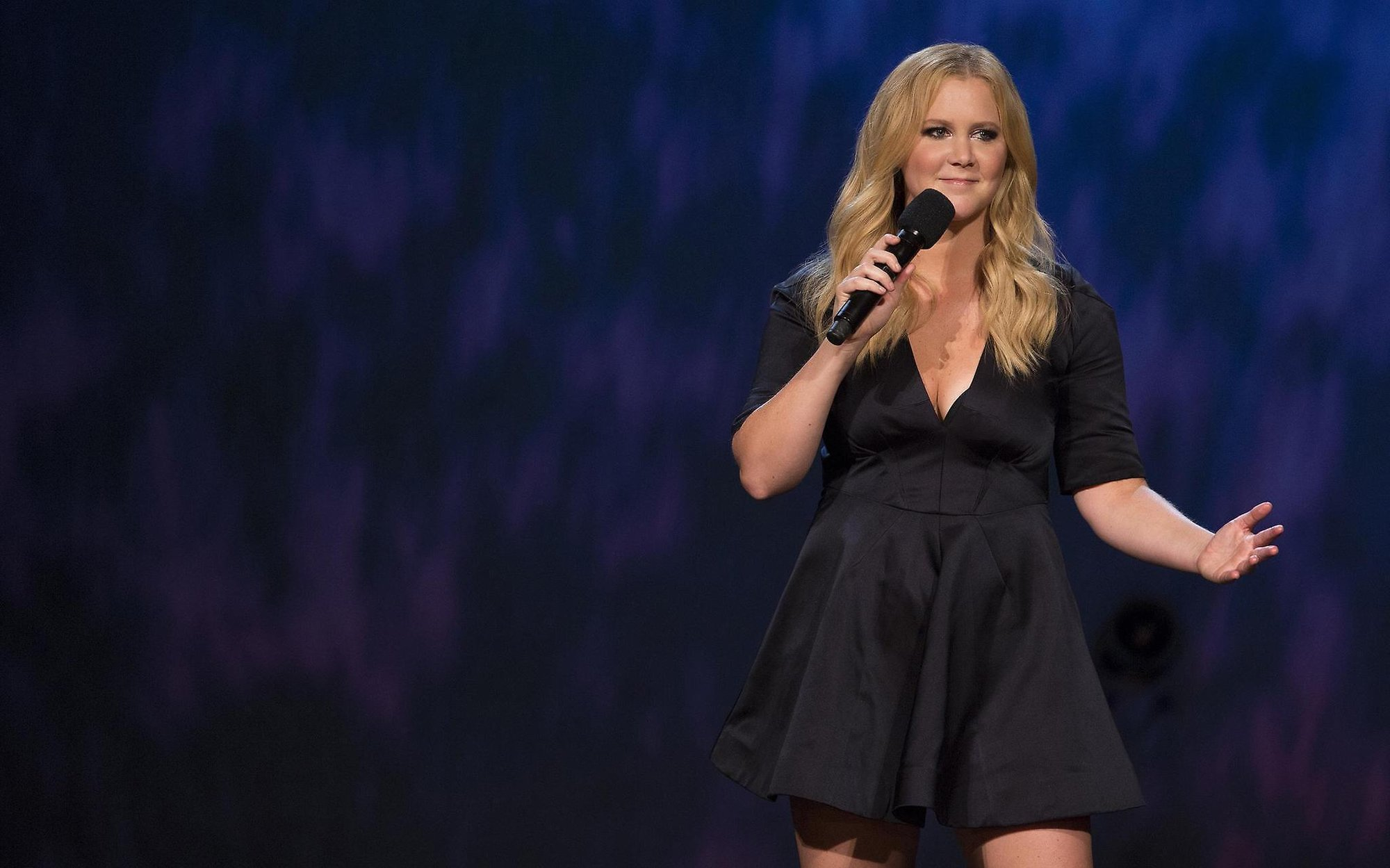 Comedian Amy Schumer, shown here performing in Milwaukee, is outspoken about politics. (Craig Blankenhorn photo)