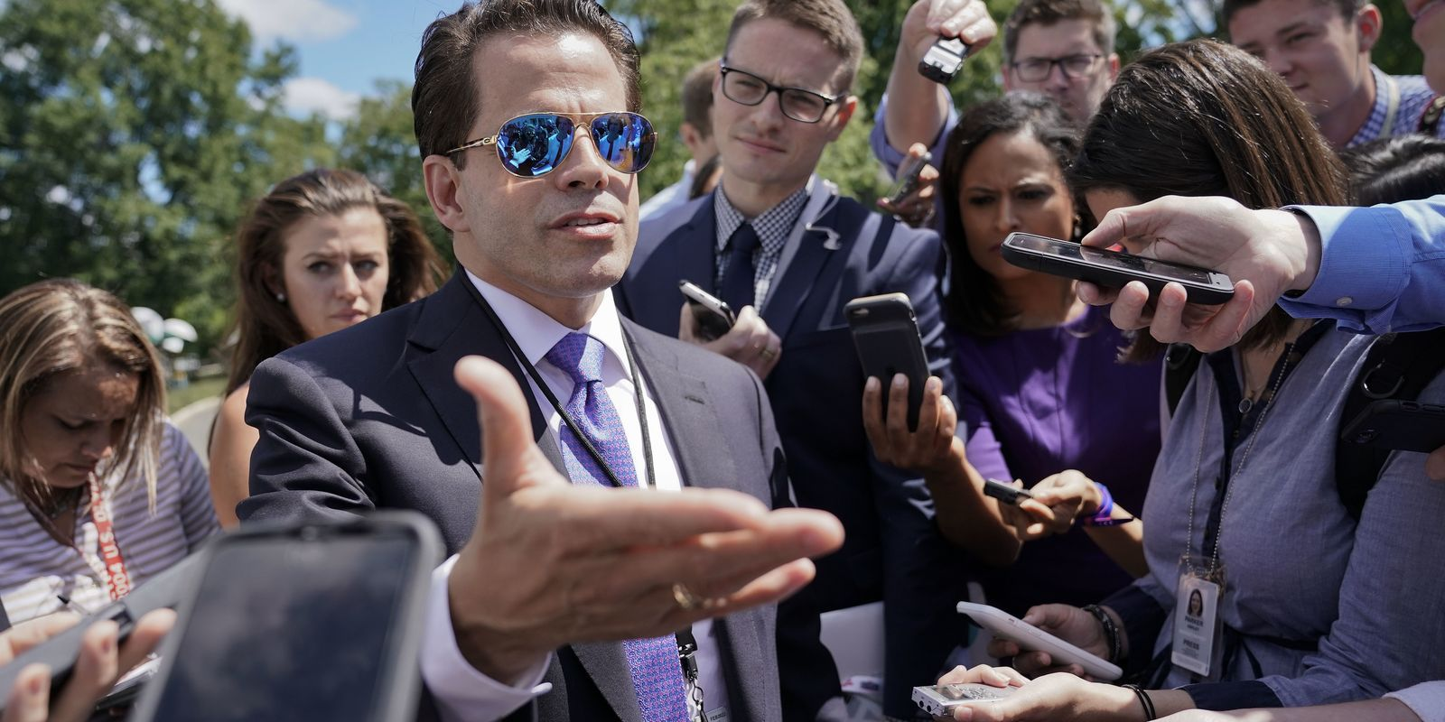 Anthony Scaramucci, communications director for President Donald Trump, caused a stir with comments he made about Trump's then-chief of staff, Wisconsinite Reince Priebus. (USA Today)